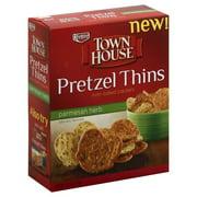 Keebler Town House Pretzel Thins Parmesan Herb Crackers, 10 Oz.