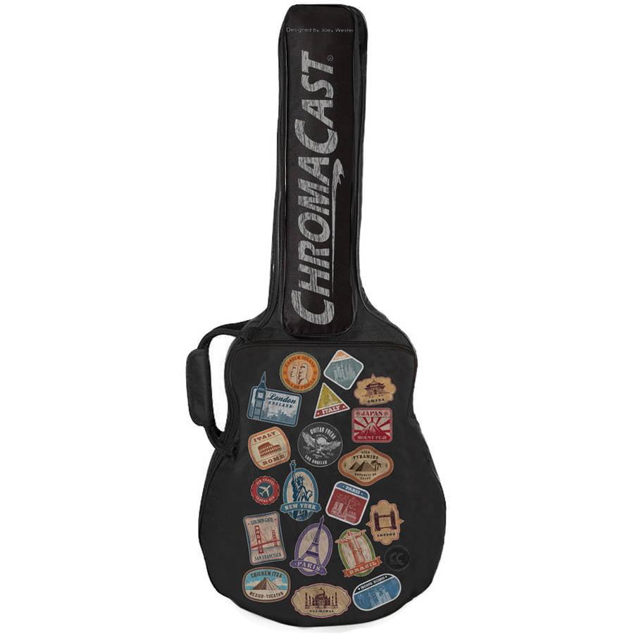 ChromaCast World Tour Graphic 2-Pocket Guitar Padded Gig Bag by