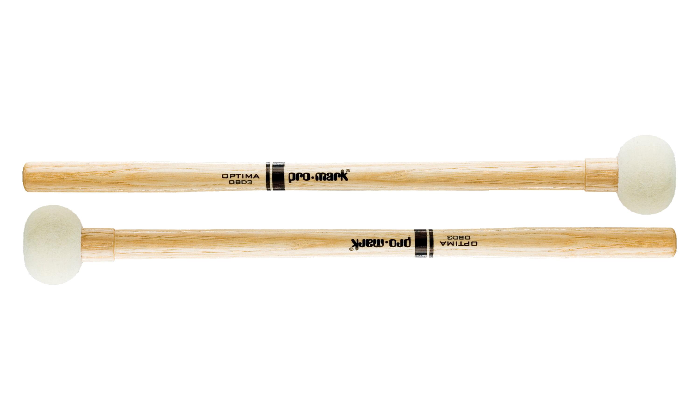 Promark Optima Marching Bass Felt #3 Drum Mallets by ProMark