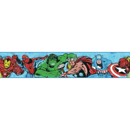 Disney Kids III Marvel Avengers Border](Disney Border)