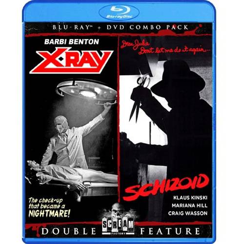 X-Ray (1982) / Schizoid (1980) (Blu-ray + DVD) (Widescreen)