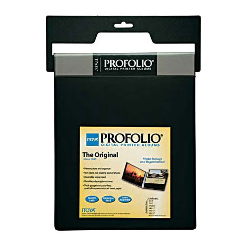 "ITOYA ART Profolio 11x8-1/2"" - Horizontal Art Size Storage/Display Book Portfolio"