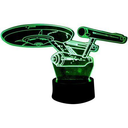 Star Trek Enterprise 3D Acrylic Led Lamp