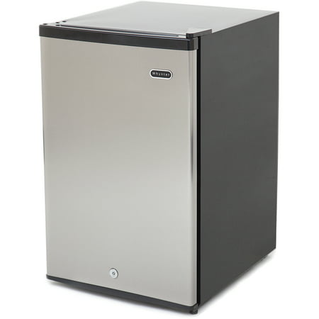 Whynter 2.1 cu. ft. Upright Freezer with Lock in Stainless Steel