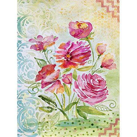 - Garden Beauty II 24x18 Giclee Floral Art Print Poster Decor by Jean Plout POD