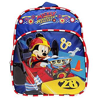 Mini Backpack - Disney - Mickey Mouse - Roadster Racers Red/Blue 002862 - image 2 of 2