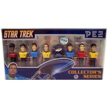 PEZ Star Trek Limited Edition, Numbered Collectors Set, 3.48-Ounce Box - Star Wars Pez