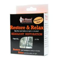 White Diamond Restore and Relax, Headlight Restoration Kit