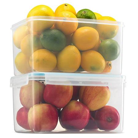 Vegetables Storage Containers Komax biokips large food storage container 155oz set of 2 komax biokips large food storage container 155oz set of 2 airtight workwithnaturefo
