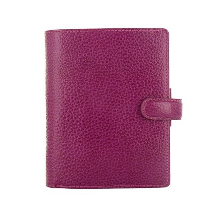 - Filofax - Finsbury Organizer - Pocket - Raspberry Leather