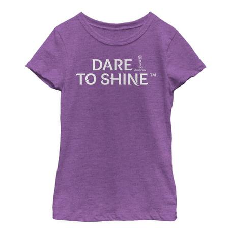 FIFA Women's World Cup France 2019™ Girls' Dare to Shine Slogan - Fresh Girl