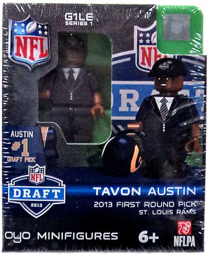 NFL 2013 Draft First Round Picks Tavon Austin Minifigure
