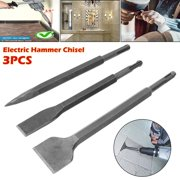 Professional 3PCS/1pc Electric Hammer Chisel Set Different Type Electric Rotary Hammer Bits Chisel Set