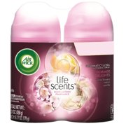 Air Wick Life Scents Automatic Air Freshener Spray, Summer Delights with White Flowers, Melon & Vanilla Scent, 6.17 Ounce