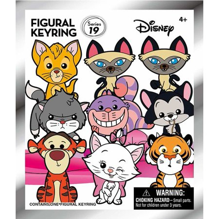 Disney Key Ring (Disney Series 19 - Disney Cats - 3D Foam Key Ring in Blind Bag )