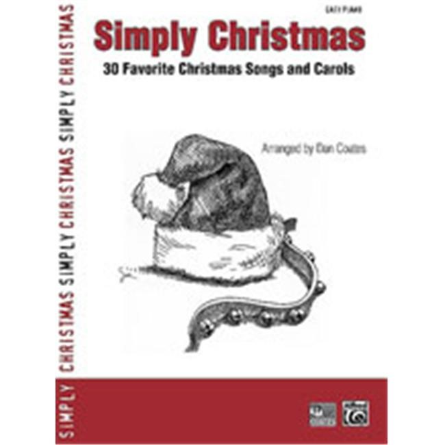 Alfred 00-30041 Simply Christmas - Music Book