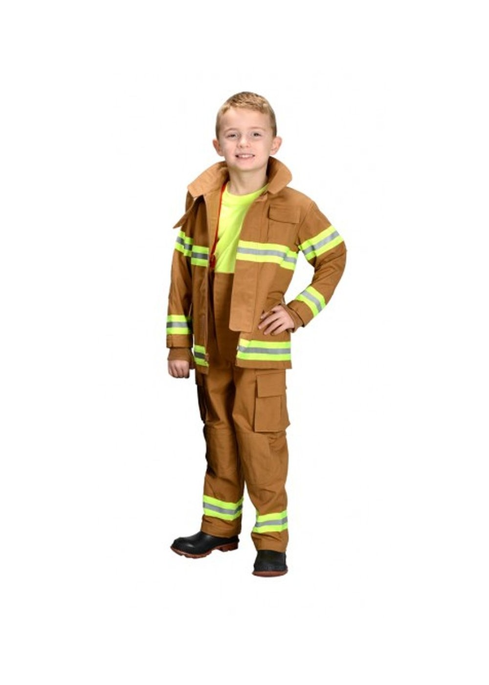 Profressional Firefighter Boys Costume by
