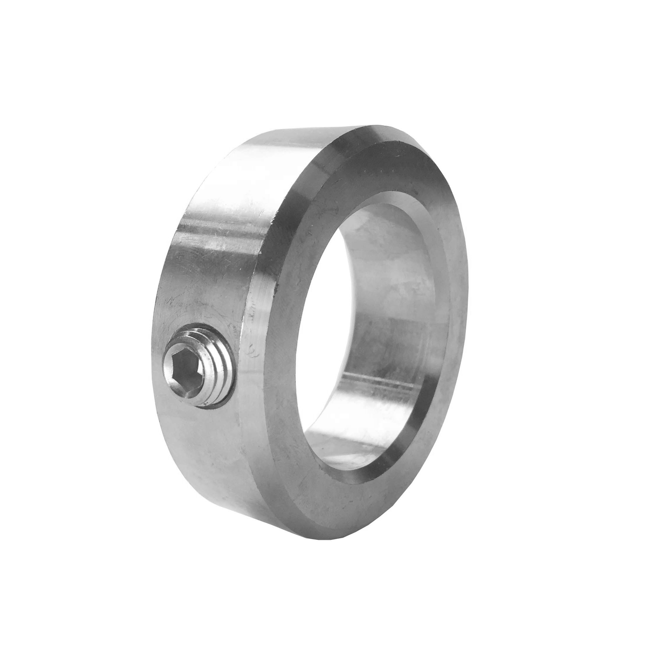 "3//8/"" shaft set screw solid steel collar stop zinc plated 3//8 inch collars"