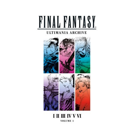 Final Fantasy Ultimania Archive Volume 1 - Final Fantasy Halloween Art