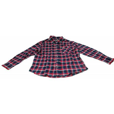 Woolrich Flannel Shirt (Woolrich Mens Size 2X-Large Long Sleeve Flannel Shirt,)