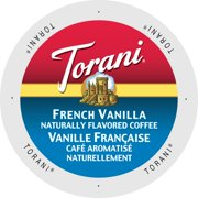 Torani French Vanilla Flavored Coffee Pods, 24 Count for Keurig K Cups Brewers
