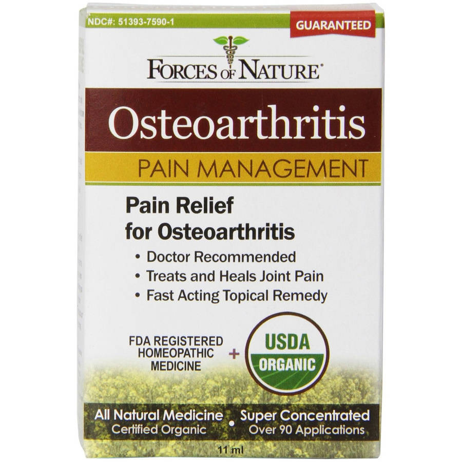 Forces of Nature Osteo Arthritis Pain Management, 11 ML
