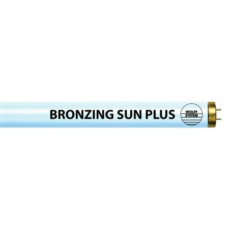 Wolff System Bronzing Sun Plus F71 100W Bipin Tanning Lamp 20 Pack