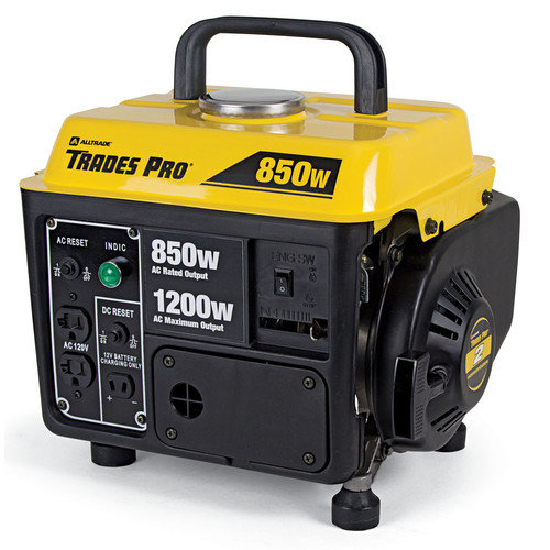 Trades-Pro 1,200 Watt Gasoline Generator with Recoil Start