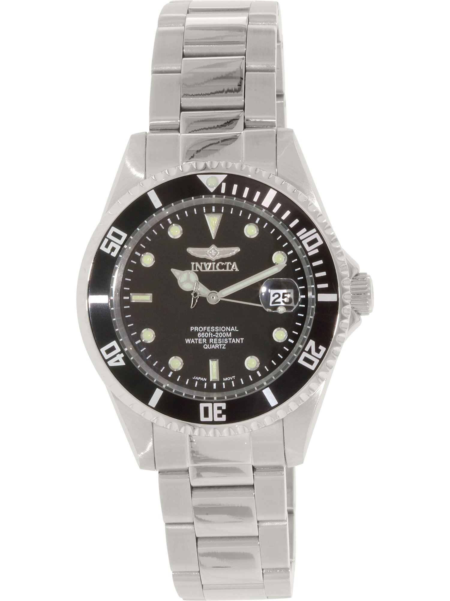 Invicta Men's Pro Diver 8932OB Silver Stainless-Steel Quartz Fashion Watch