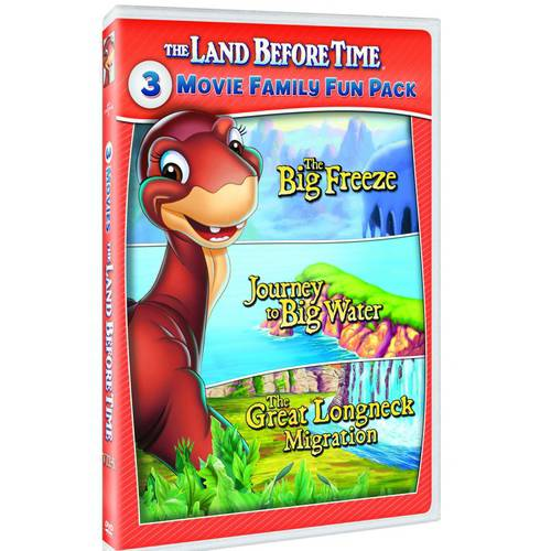 The Land Before Time VIII-X: 3-Movie Family Fun Pack