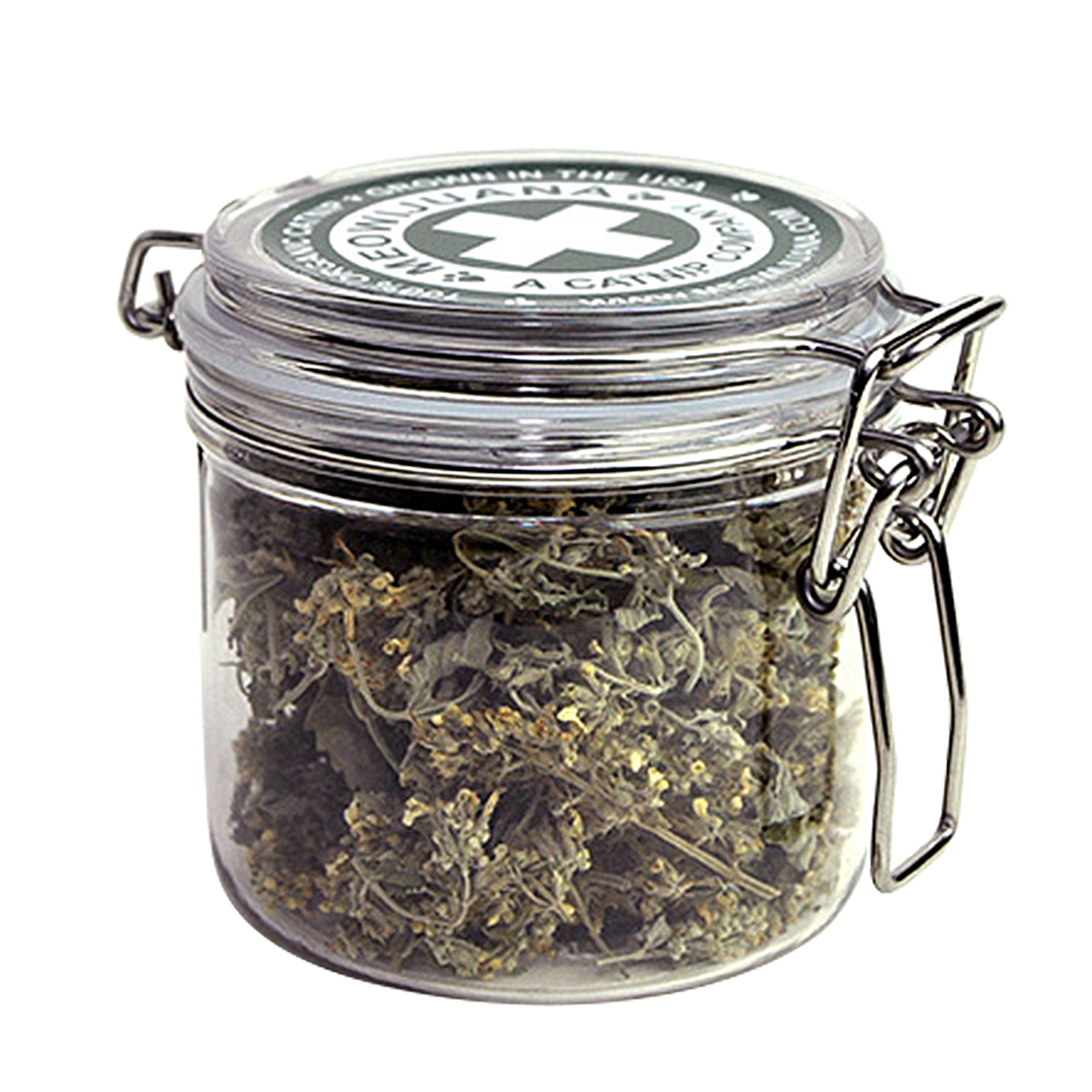 Meowijuana Purrple Passion Premium Catnip Small Jar of Buds, 15 grams by Meowijuana