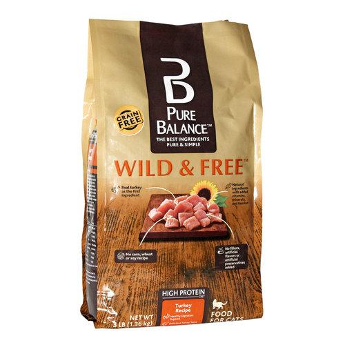 Pure Balance Turkey Dry Cat Food, 3 Lbs - Walmart.com
