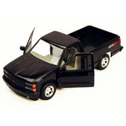 1992 Chevy 454SS Pick Up Truck, Black - Showcasts 73203 - 1/24 Scale Diecast Model Car (Brand New, but NOT IN BOX)
