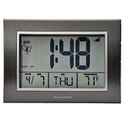 Best Atomic Alarm Clocks - AcuRite 13131 Atomic Alarm Clock with Date, Day Review