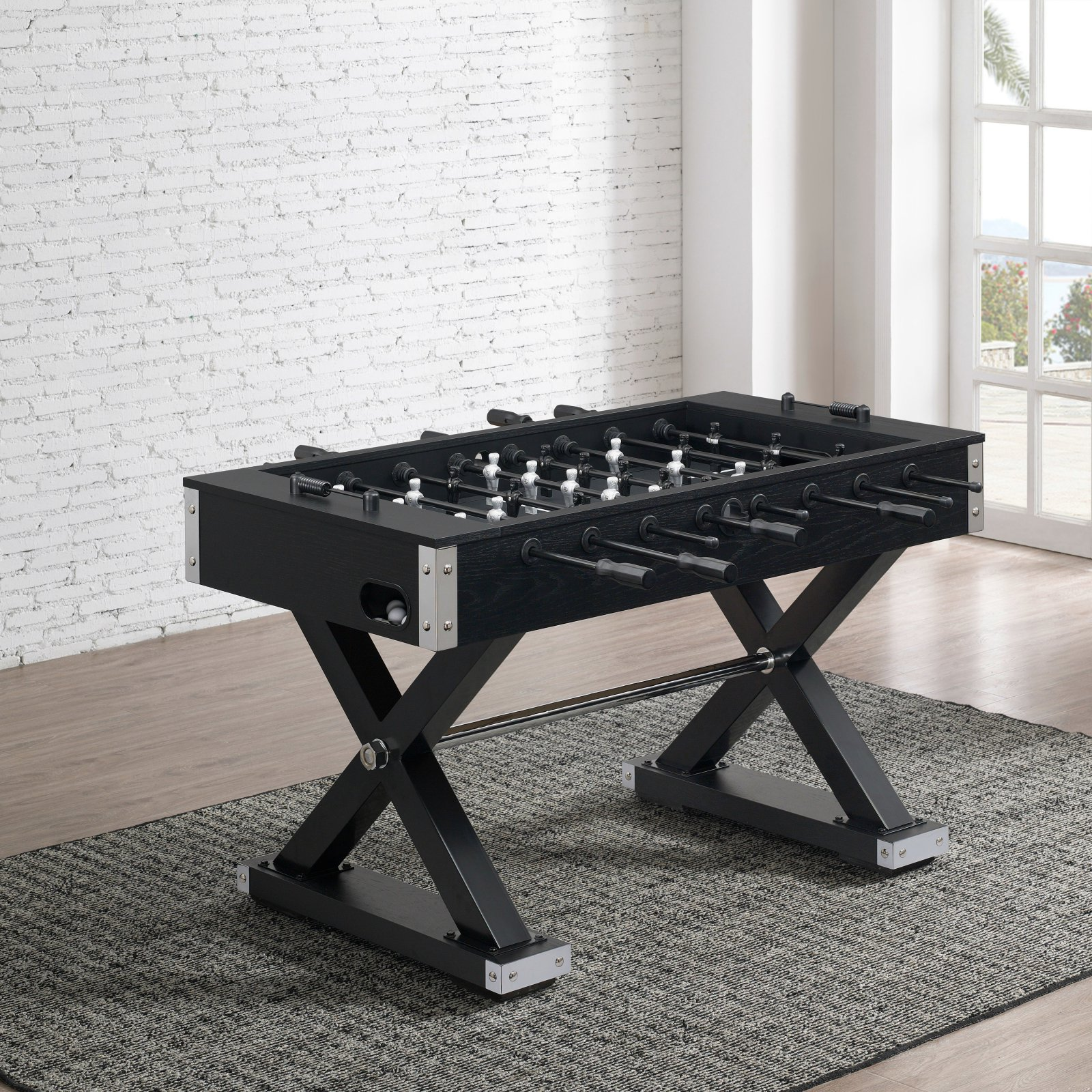 American Heritage Billiards Element Foosball Table by Overstock