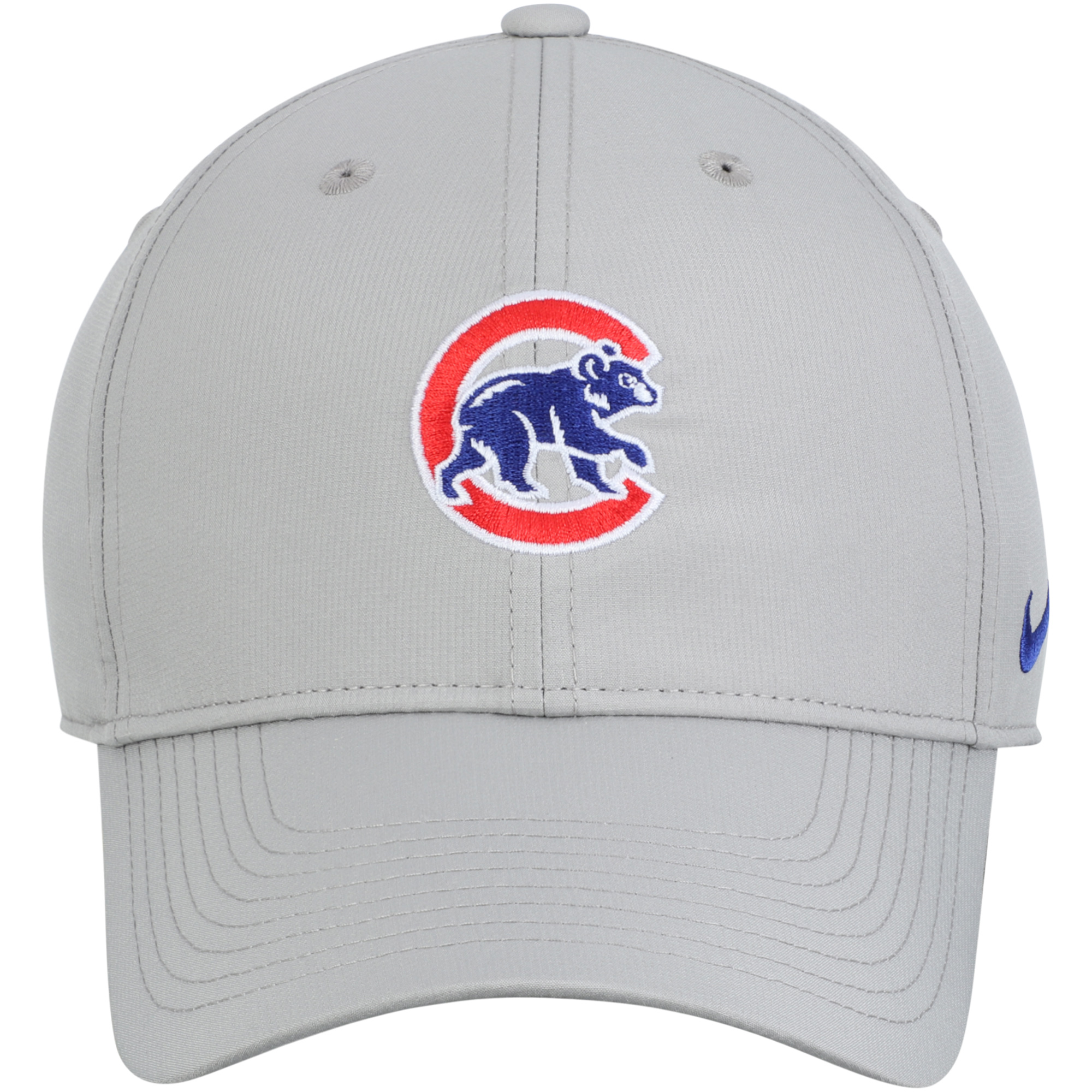 4623017a Chicago Cubs Nike Legacy 91 Adjustable Performance Hat - Gray - OSFA ...