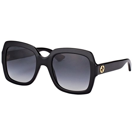 Gucci GG0036S 001 Women's Square Sunglasses (Gucci Sonnenbrille Aviators)