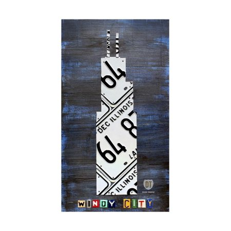 Windy City Building Print Wall Art By Design Turnpike - Windy City Coupon