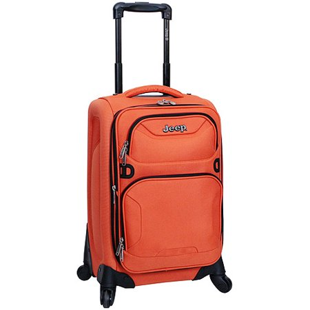 ae2ca9641a Jeep - Traxion Expandable Upright Spinner Luggage - Walmart.com
