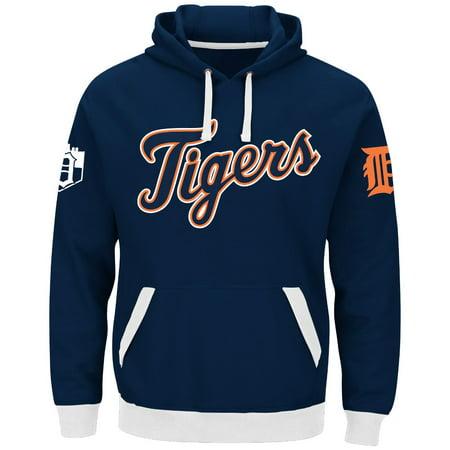 "Detroit Tigers Majestic MLB ""Third Wind"" Mens Hooded Sweatshirt by"