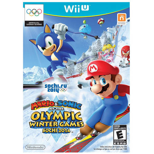 Mario & Sonic at the Sochi 2014 Olympic Winter Games (Wii U) - Pre-Owned - Game Only