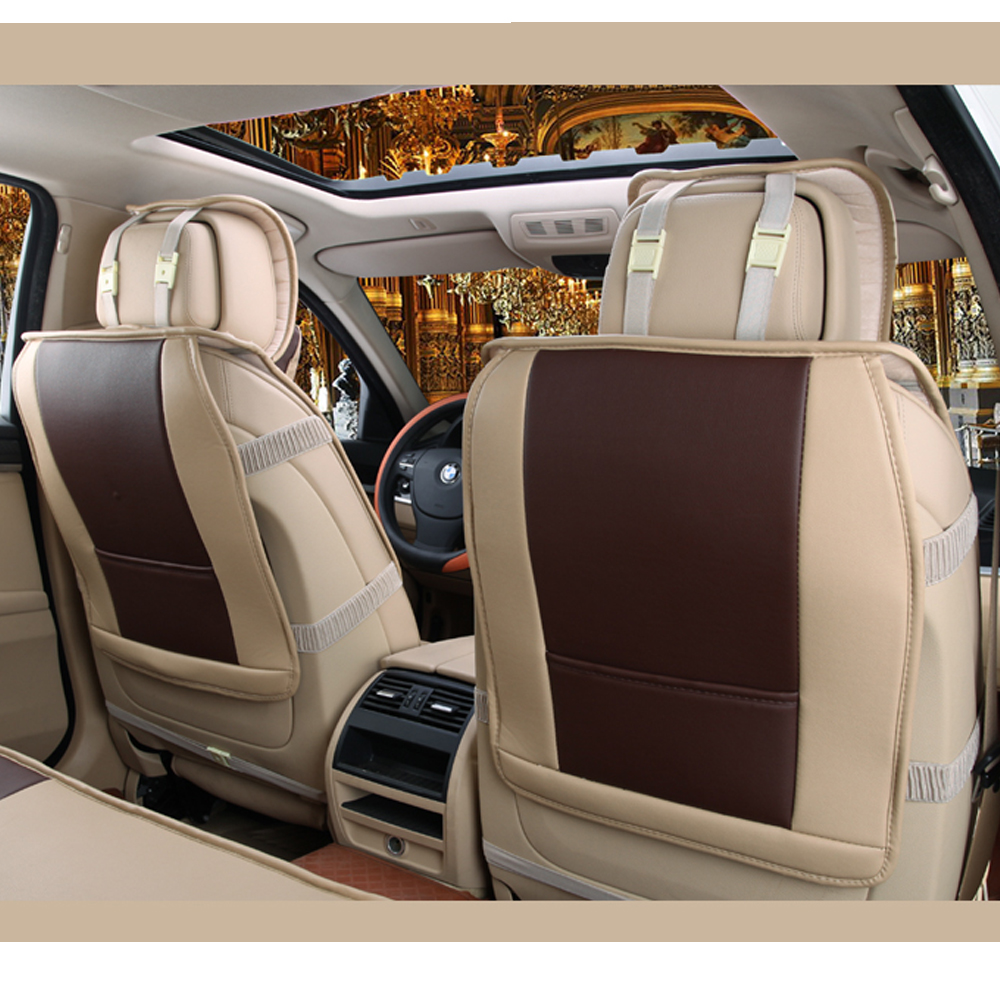 TINTON LIFE PU Leather 5-seats Wish Car Seat Cover Mat Chair Cushion For Honda CR-V C16V9 - Walmart.com