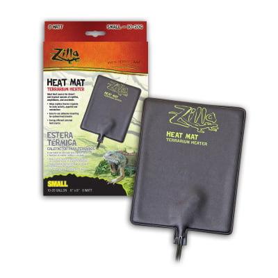 Zilla 09937 10 to 20 gal Terrarium Heater Small Heat Mat, 8 watt