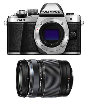 Olympus OM-D E-M10 Mark II Digital Camera [Silver] w/ Oly...