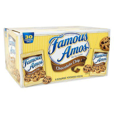 Famous Amos Chocolate Chip Cookies Halal