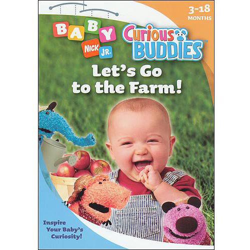 Baby Nick Jr.: Curious Buddies Let's Go To The Farm (Full Frame) by NATIONAL AMUSEMENT INC.