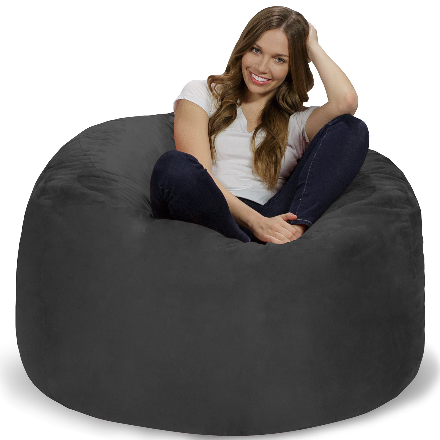 Memory Foam Bean Bag Chair - 4 ft