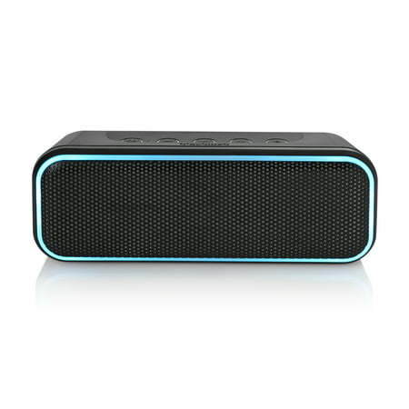 Blackweb LED Bluetooth Wireless Speaker, Medium