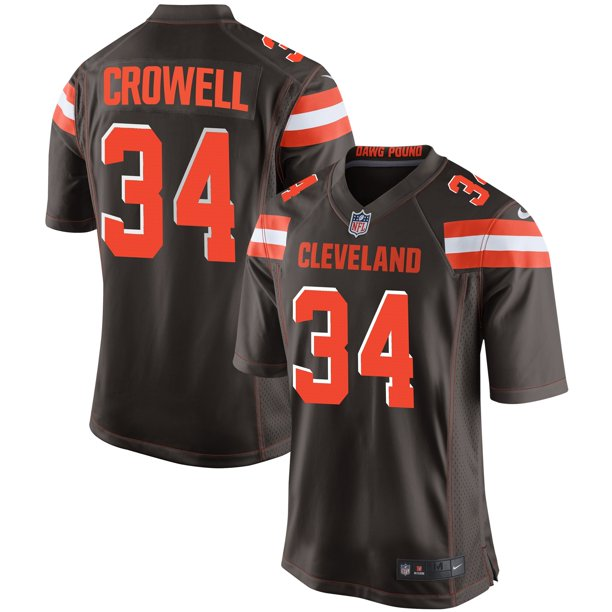 Isaiah Crowell Cleveland Browns Nike Youth Team Color Game Jersey - Brown