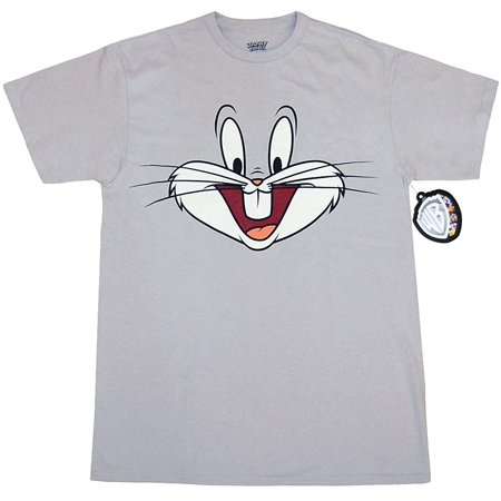 Bunny Faces - Looney Tunes Bugs Bunny Face T-Shirt